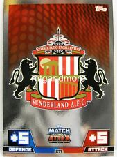 Match Attax 2014/15 Premier League - #271 Sunderland - Wappen