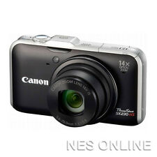 Canon PowerShot SX230 HS 12.1MP Digital Camera+GPS 28mm Wide/14x Zoom/BLACK