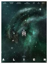 Alien Aliens Nostromo Andy Fairhurst Lithograph Poster Print Art NUM #/395 + COA