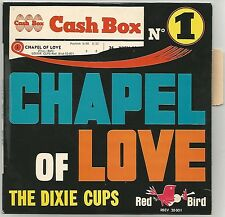 "RARE DIXIE CUPS / JERSEY RED DOO WOP ""CHAPEL OF LOVE"" 60's EP RED BIRD 28001"