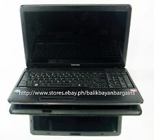 PRE-LOVED TOSHIBA SATELLITE C650D004 MODEL NO PSC16C-00400M LAPTOP COMPUTER WIN7