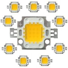 50 pcs 10W white High Power LED SMD bead Chips lamp DC9-12V