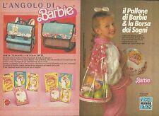X9504 BARBIE - Il pallone & la borsa dei sogni - Pubblicità 1987 - Advertising