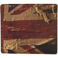 Mustard Wallet Card Novelty Funny Holder 'Union Jack' Design One Size