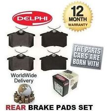 FOR VOLKSWAGEN VW GOLF 1.9 GT TDI 2001-2004 NEW REAR BRAKE DISC PADS SET