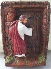 Creative Arts Inc 3D Behold Jesus At Door Wall Plaque Art Religion Bible 1968