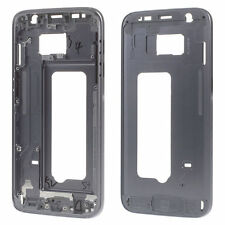 OEM Samsung Galaxy S7 Black Grey Middle Frame Housing Bezel Mid Chassis