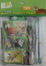 Party Favors Pack ANIMAL PLANET With Loot Bags Birthday Filler Value Pack 56 Pcs