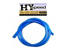 "HYspeed PVC Fuel Gas Line 1/4"" ID X 3/8"" OD 3' Solid Blue ATV Motorcycle Yamaha"