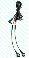 Replacement Electrode Cable for AURAWAVE Massagers - USE SNAP OR PIN PADS!