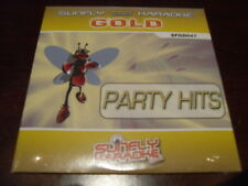 SUNFLY GOLD KARAOKE DISC GD-047 PARTY HITS CD+G SEALED 18 TRACKS