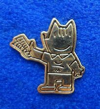 RARE Staff Only 1992 Barcelona Cobi Olympic Mascot Pin - Official Ticket Sellers