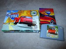 Cruis'n USA * Nintendo 64 N64 * COMPLETE IN BOX *  Cruising Cruisin Crusin' CIB