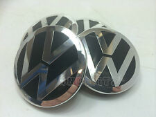 RANGE ROVER SPORT VOGUE VW T5 ALLOY WHEEL BLACK CHROME BADGE CENTRE CAPS