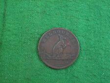 Melbourne, Australie 1 / 2d jeton 1851 W J Taylor rdl205