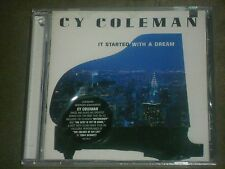 It Started with a Dream by Cy Coleman (CD, Jan-2002, Sony Music) sealed
