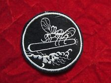 WW 2 PT Boat patch US Navy Mosquito Boat wool PT109 3 inch Torpedo w/ store tag