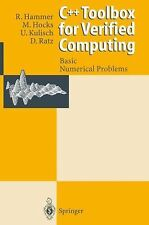C++ Toolbox for Verified Computing I : Basic Numerical Problems Theory,...