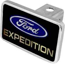 New Ford Expedition Blue/Gold Word Logo Tow Hitch Cover Plug