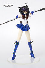 Sailor Saturn Fighting Sailor Moon Hand Painted Resin Yetiart Figurine Pre-order
