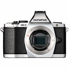 NEU Olympus OM-D E-M5 Mark II Systemkamera Gehäuse - Silber