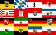GERMAN ALL FEDERAL STATES FLAG - 5x3 Feet - GERMANY FLAG COLLECTION