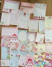 Sanrio MY MELODY Stationery / Stationary Memo 30 sheets Writing Paper LOT