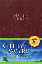 Niv Gift and Award Bible by Zondervan Staff (2011, Imitation Leather, Special)