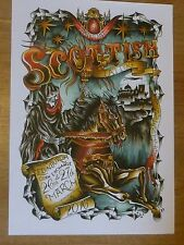 Scottish Tattoo Convention - Edinburgh march 2016 poster