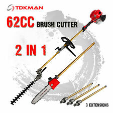 TDKMAN Pole Chainsaw Hedge Trimmer Brush Cutter Whipper Snipper Pruner Line Tree