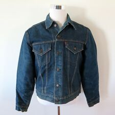 VINTAGE ORIGINAL LEVIS DENIM JACKET INDIGO BIG E BLANKET 1960's 70505 SIZE 42