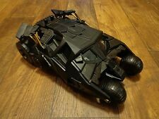 MATTEL--BATMAN'S BATMOBILE TUMBLER CAR W/ MOTORCYCLE & BATMAN FIGURE (LOOK)