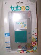 Tabeo SCREEN  PROTECTOR  SET  Cloth, Squeegee & 3 protectors (#1072)