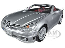 2005 MERCEDES SLK55 SLK 55 AMG SILVER 1/24 DIECAST CAR MODEL BY MOTORMAX 73292