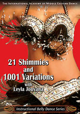 21 Shimmies with Leyla - How to Belly Dance DVD Video - Belly Dancing