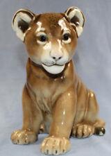 löwe Hutschenreuther porzellanfigur figur porzellan löwen baby lion 1950
