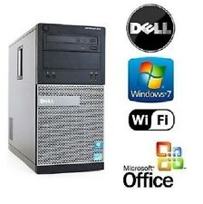 Dell Optiplex Win 7 Pro Tower -Quad Core i5 3.1GHz -16GB/256GB SSD - Desktop PC