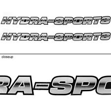 HYDRA-SPORT BOAT DECALS (Pair) decal