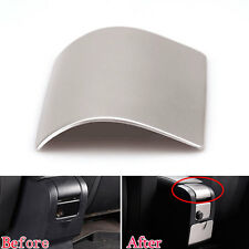 Auto Steel Center Console Armrest Panel Decal Cover Trim For Volvo XC60 V60 S60
