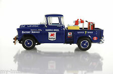 #3 Matchbox Models Yesteryear 1956 CHEVROLET 3100 MOBILGAS BATTERY 1:43 Scale