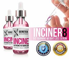 INCINER8 EXTREME FAT BURNER WEIGHT LOSS SERUM DIET SLIMMING CARB BLOCKER PILLS
