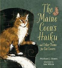 The Maine Coon's Haiku: And Other Poems for Cat Lovers-ExLibrary