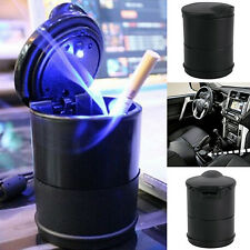 New Auto Car Truck LED Cigarette Smoke Ashtray Ash Cylinder Cup Holder Enticing