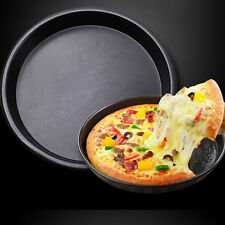 Deep Dish Round Pizza Cookie Pan Baking Tray Bakeware Non Stick Aluminum 8 BD