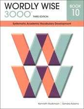 Wordly Wise 3000 Workbooks Grades 10,11,&12 **3rd Edition**