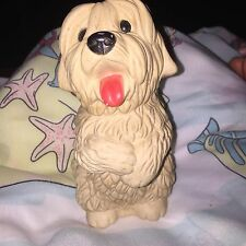 Vintage Squeaky Toy Shaggy Dog