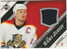 2005-06 UPPER DECK OLLI JOKINEN GAME USED JERSEY CARD #J-OJ FLORIDA PANTHERS