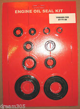 Yamaha XT500 Oil Seal Kit TT500  SR500 1976 1977 1978 1979 1980 1981 500 Engine