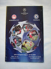 Orig.PRG   Champions League  2007/08   OLYMPIACOS PIRÄUS - CHELSEA FC  !  SELTEN