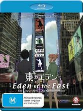 Eden Of The East: The King Of Eden + Air Communication *NEW/SEALED* BR Region B